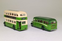 EFE 99910; 80th Anniversary of Southdown, 2 Bus Set; Leyland PD2 Bus & Bedford OB Coach