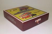 Corgi Classics D41/1; Barton Bros 1908-1989 2 Bus Set; Bedford OB Coach; AEC Regent Double Deck Bus