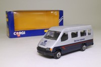 Corgi Classics C676/7; Ford Transit Van; Minibus; British Airways