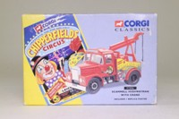 Corgi Classics 97886; Scammell Highwayman; Wrecker, Chipperfield's Circus