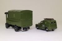 Corgi Classics D15/1; GPO Telephones Set; AEC Cabover Van & Morris Minor Van