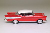 Dinky Toys DY-2; 1957 Chevrolet Bel Air; Red & White
