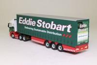 Oxford Diecast SHL01CS; Scania Highline Artic; Curtainside, Eddie Stobart