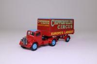 Corgi Classics 97303; Bedford O Series Artic; Dropside Tilt Trailer; Chipperfields Circus