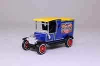 Models of Yesteryear Y-12/3; 1912 Ford Model T Van; Bird's Custard: Blue & Yellow