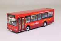 Creative Master / Northcord UKBUS 3027; Dennis Dart Plaxton Mini Pointer Bus; Solent Blue Line, Red Rocket; A Eastleigh via Superstores & West End