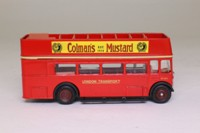 EFE 102002; AEC RT Double Deck Bus; London Transport; Rt 406F Epsom Stn/Epsom Downs, Coleman's Mustard