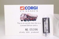 Corgi Classics 24201; Leyland Mouthorgan Cab; 8 Wheel Elliptical Tanker, McKelvie & Co Ltd