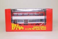 Britbus N6201; Scania / MCW Metropolitan Double Door Bus; Leicester City: 21 Rushey Mead