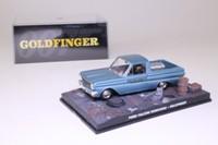 James Bond; Ford Falcon Ranchero Pickup; Goldfinger; Universal Hobbies 76