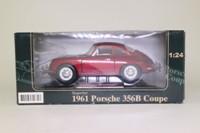 Superior 31671; 1961 Porsche 356b Coupe; Metallic Red