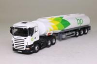 Oxford Diecast SHL01TK; Scania R Cab Artic; Petrol Tanker, BP