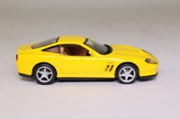 Maisto 31502; Ferrari 550 Maranello; Yellow, Tan Interior