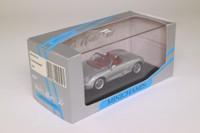 Minichamps 400 063130; 2002 Porsche Boxster Roadster; Silver Metallic