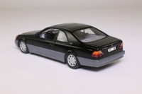 Minichamps 32600; 1992 Mercedes-Benz 600 SEC; Black, Schwarz