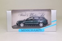 Minichamps 430 015011; 1995 Audi A4 Avant; Green Metallic