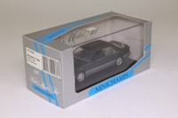 Minichamps 430 033500; 1993 Mercedes-Benz E-Class Sedan; Blue Black Metallic
