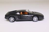 Detail 141; 1991 Ferrari 512TR Testarossa Coupe; Black, Opening Doors