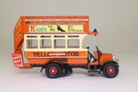 Corgi Classics 96993; Thornycroft J Type Bus; Yelloway, Rochdale, Bury, Bolton, Chorley, Blackburn, Preston, Blackpool