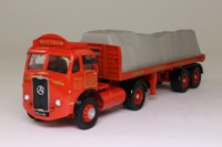 Corgi Classics 28001; Atkinson; Articulated Flatbed Trailer, Sutton's of St Helens, Sheeted Load