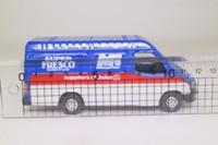 Corgi Classics C656/33; Ford Transit Van; McDougal Rose, Blue/Red/White