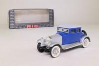 Rio 72; 1923 Rolls-Royce Twenty; Blue & Silver