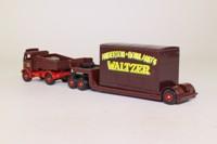 Trackside DG123001; AEC Mammoth Ballast Tractor; Girder Trailer, Waltzer Fairground Ride Load