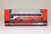 Corgi OOC OM43312; Plaxton Premiere Coach; Wilts & Dorset; X33 Bournemouth, Ringwood, Southampton