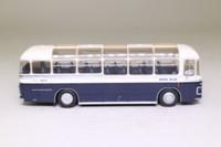 Oxford Diecast 76MW6001; Bristol MW6G Coach; Royal Blue; Bournemouth, Guildford, Winchester