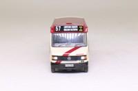EFE 24810; Mercedes 709D/Reeve Burgess Beaver Bus; Devon General; 57 Lympstone Exmouth Budleigh Salterton