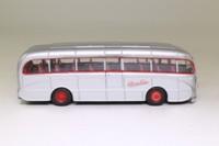 Corgi OOC 40303; Burlingham Seagull Coach; Silver Star Motor Services of Salisbury; Dest. Manchester, Liverpool