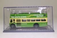 Corgi OOC OM41905; Leyland PD3 Bus 'Queen Mary'; Open Top: Southdown Beautiful Britain; Rte 221