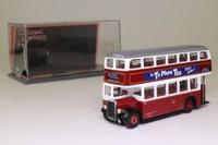 Corgi OOC 41102; Leyland PD2 Bus; Orion/Leyland; Portsmouth Tramways; Rt H Eastern Rd, Eastney Esplanade, Eastney, Milton, White House