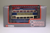 Corgi OOC 97811; Weymann /BUT Trolleybus; Notts & Derby Traction Co; Rte A1 Ripley Heanor Eastwood Basford