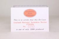 EFE 17203DL; Leyland National; Yorkshire Terrier; 25 Bradway