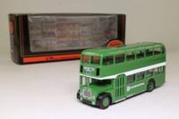 EFE 14002; Bristol FLF Lodekka Bus; Eastern National NBC; Rt 251 Southend Tyler Avenue