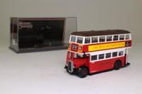 Corgi OOC 43907; Guy Arab Utility Bus; London Transport; Rte 86A Limehouse, Stratford, Romford