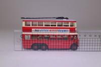 Models of Yesteryear Y-10/5; 1931 Diddler Trolleybus; London Transport; Rt 604 Hampton Court via Malden & Kingston