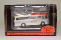 EFE 12204; Harrington Grenadier Coach; Orange Luxury Coaches; Rt 1 Races