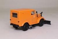Gaz 69 Snowplough Van; Orange; DeAgostini