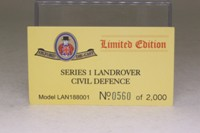 Oxford Diecast LAN188001; Land-Rover Series 1 88 Inch; Civil Defence Corps