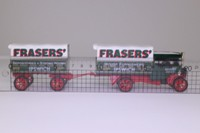 Models of Yesteryear Y-27/1; 1922 Foden Steam Wagon; With Trailer, Fraser's of Ipswich
