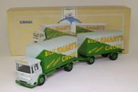 Corgi Classics 97891; AEC Ergomatic Cab; 4 Wheel Box Van & Trailer; Billy Smart's Circus