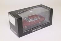 Minichamps 400 037260; 1965 Mecedes-Benz 200; Dark Red, Mittelrot