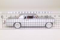 Minichamps 400 182301; 1956 Lincoln Continental; Hard Top, Metallic Silver