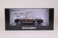 Minichamps 430 032236; 1965 Mercedes-Benz 230 SL Cabriolet; Dark Red