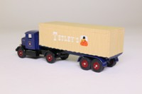Trackside DG165000; Scammell Artic; Sheeted Trailer, Tetley's Ales
