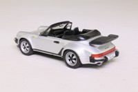 DeAgostini 1986 Porsche 911Turbo Cabrio; Metallic Silver, Black Seats