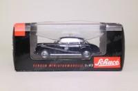 Schuco 02041; 1955 BMW 502 Sedan; Taxi, Black