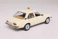 Schuco 03293; 1975 Opel Ascona B; Cream, Taxi